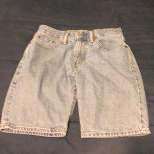 Levi Jean shorts size 29 505